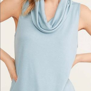 Lou and grey signature soft cowl neck